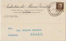 VICENZA - INDUSTRIA DEI MARMI VICENTINI 1931