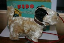 NICE VINTAGE 1950'S ALPS MECHANICAL WALKING FIDO (DOG) in ORIGINAL BOX