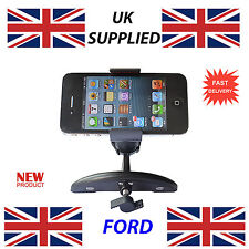 For New FORD Car Mobile Phone iphone or GPS fits CD Slot Holder s4