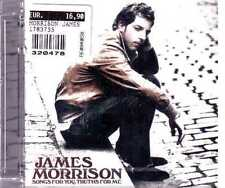 JAMES MORRISON SONGS FOR YOU TRUTHS FOR ME CD  SEALED SIGILLATO