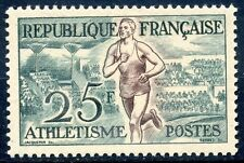 TIMBRE FRANCE NEUF N° 961 ** SPORT JEUX OLYMPIQUES HELSINKI ATHLETISME COTE 16 €