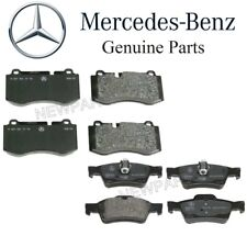 For Mercedes C216 W221 S550 R230 Front & Rear Brake Pad Sets Genuine