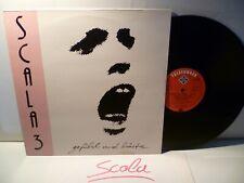 LP,  Scala 3, Gefühl und Härte, Klaus Schulze, NDW 1981, Textsleeve, NM
