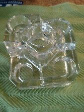 Partylite 5 Tier Candle Holder Ice Crystal Castle Tea Light Holder Retired