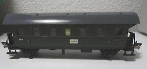 Fleischmann Hamburg Personenwagen 3. Klasse Made in US Zone Germany Spur HO