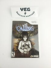 Calling (Nintendo Wii, 2010) Complete Manual VG Tested Canadian Seller Rare