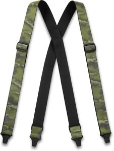 New Dakine Men's Hold'Em Hold Em' Suspenders Olive Ashcroft Camo 2021