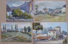 CHARLES BERNARD   lot  4  aqua    ARTISTE REPERTORIE  FORTE COTE