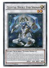 Celestial Double Star Shaman DUSA-EN018 Ultra Rare Yu-Gi-Oh Card 1st Edit Mint