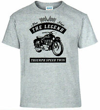 T-Shirt, Speed Twin,Motorrad,Oldtimer,Youngtimer