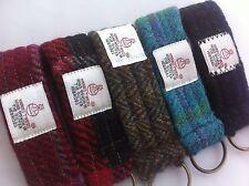 Harris tweed keyring womans gift mans gift Scottish gift tartan gift keychain