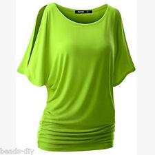 Fashion Women Summer Cotton Vest Short Sleeve Blouse Casual Tank Tops T-Shirt GW