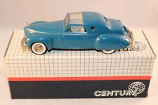 Century 3013 Lincoln Continental 1946 Raymond loewy 1989 Calendar Collection MIB