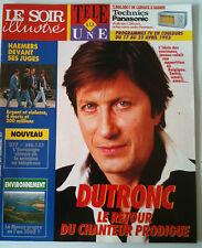 Le Soir illustré du 14/04/1993; Dutronc le retour / Haemers devant les juges