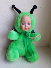 Baby Face Collection Butterfly Plush Stuffed Baby Doll By Toy Works