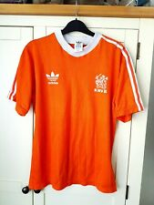 Netherlands Original Home Shirt 1982. Medium. Adidas Orange Holland Football Top