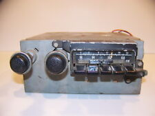 1971 PLYMOUTH ROAD RUNNER DODGE CHARGER AM FM RADIO OEM #3501014