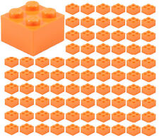 25 LEGO 1X4 DOT NOUGET MASONRY PROFILE BRICKS C196