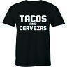 Tacos And Cervezas Shirt Cinco De Mayo Mexico Men's T-shirt Gift Tee