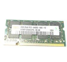 2GB PC2-6400S RAM Arbeitsspeicher 2Rx8 DDR2 200 Pin Hynix Samsung Nanya Laptop