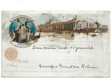 COLUMBIAN EXPOSITION, 1894 POSTCARD, POSTED, EXPOSITION