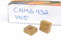 NEW SURPLUS 8PCS. VALENITE  CNMG 432  GRADE: VN5  CARBIDE INSERTS