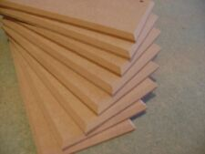 Wooden MDF Blank Plaques Signs Chamfered Edge 20cm x 10cm x 6mm wall hanging