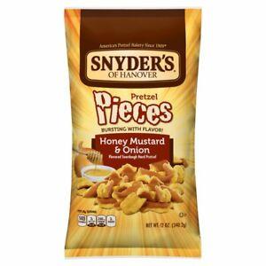 Snyder's of Hanover Pretzel Pieces Honey Mustard & Onion 12 oz