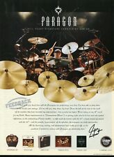 2005 Print Ad of Sabian Paragon Neil Peart Signature Drum Cymbals RUSH