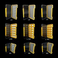 Waterproof Slim Fly Box Pocket Flies Box Grip Foam Multi Magnetic Compartments