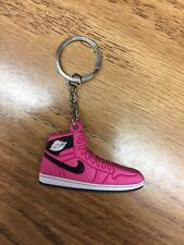 Basketball shoe keychain