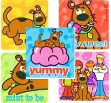 5 x Square Stickers ~ Scooby Doo Shaggy Velma Sweet Cartoon Friends ~