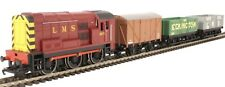 Hornby R3488 OO Gauge LMS Class 08 3973 Train Pack, Boxed With Three Wagons