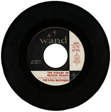 """THE SOUL BROTHERS  """"THE PARADE OF BROKEN HEARTS c/w NOTIFY ME""""  NORTHERN SOUL"""