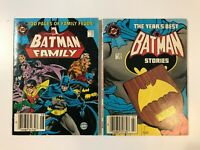 BATMAN FAMILY 51 (1984) STORIES 62 (1985) DC BLUE RIBBON DIGEST CANADIAN VARIANT