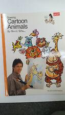 New Walter Foster Drawing Cartoon Animals by Bruce Blitz BZ04