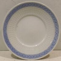 6Stück Royal Copenhagen Fan/Fächer Blue Teller ca.Dm.19,5cm Nr. 1212/11521