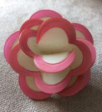 Lucite Pretty Flower Brooch