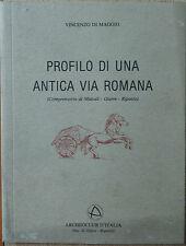 Profilo di una antica via romana - Di Maggio - Archeoclub d'Italia,1983 - R