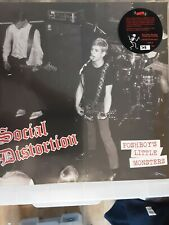 SOCIAL DISTORTION POSHBOY'S LITTLE MONSTERS RED VINYL **NEW**