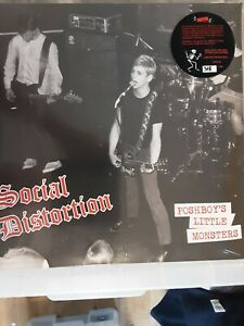 SOCIAL DISTORTION POSHBOY'S LITTLE MONSTERS RED VINYL **NEW**