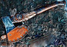 """Premium Viking Combat  Axe """"Valhalla"""" Handmade Custom Handforged"""
