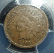 Key Date 1909-S Indian Cent  PCGS F15   ENN COINS