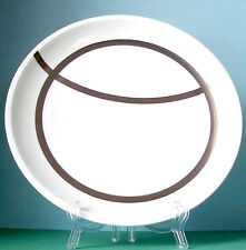Wedgwood Kelly Hoppen PLATO RIPPLE Accent Luncheon Coupe Plate 9.25' Made/UK New