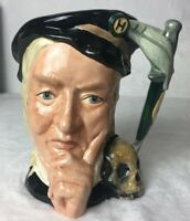 ROYAL DOULTON LARGE CHARACTER JUG Shakespearean Collection Hamlet D.6672