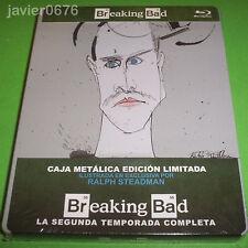 BREAKING BAD SEGUNDA TEMPORADA COMPLETA BLU-RAY STEELBOOK EDICION LIMITADA