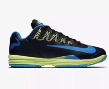 Nike Lunar Ballistec 1.5 LG Rafa Nadal Mens 15 Shoes Black Green Blue 812939-043
