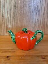 New listing Vintage Tomato Tea Pot Painted Occupied Japan Teapot