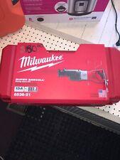 6538-21 Milwaukee 15 Amp Super Sawzall Orbital Recip Saw with Case IN STOCK