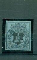 Hannover, Wertziffer auf Wappen mit glattem Grund, Nr. 11 gestempelt
